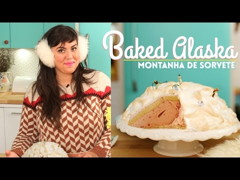 BAKED ALASKA | A MÁGICA DO SORVETE ASSADO