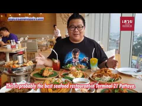 Savoey Seafood Thai Restaurant in Terminal 21 Shopping Mall Pattaya Thailand