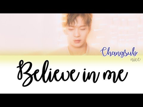 LEE CHANGSUB (이창섭) (BTOB)  - BELIEVE IN ME  Lyrics (Color Coded/ENG/ROM/JPN)