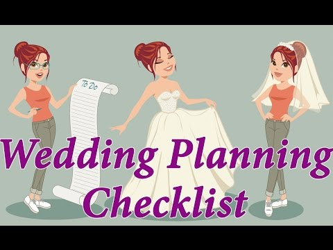 Wedding Planning Checklist. Step-by-step Wedding Planning Guide