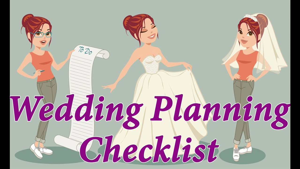 Wedding Planning Checklist. Step-by-step Wedding Planning