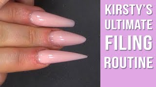 How to File Naİls Like a Professional Nail Technician