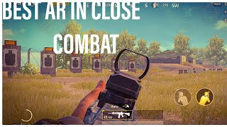 TOP 5 assault rifles for close combat in pubg mobile | which AR is the best? | EPIC WOLF