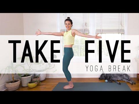 Take 5 Yoga Break     Yoga Quickies    Yoga With Adriene