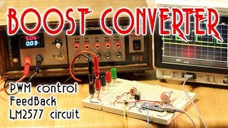 Boost converter with FeedBack tutorial