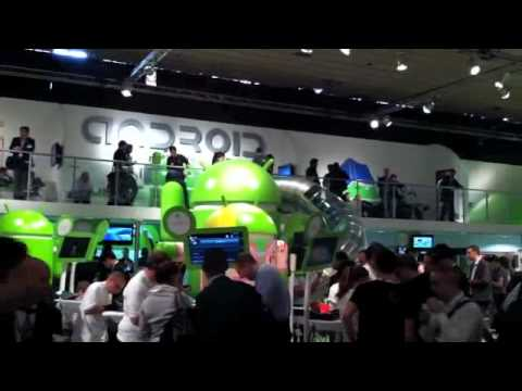 Android land at Mobile World Congress 2012