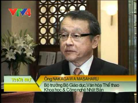Japanese Minister of Education, Culture, Sports and Technology Nagakawa Masaharu visits Vietnam