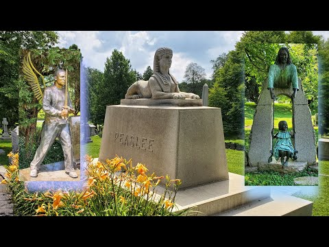 Famous Graves Of Cave Hill Cemetery (Colonel Sanders, Muhammad Ali) In Louisville Kentucky