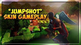 "Fortnite NEW ""Jumpshot"" Skin Gameplay! LEBRON JAMES in Fortnite! (Fortnite PC)"