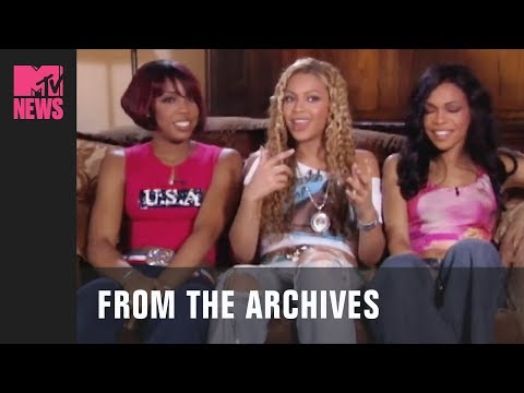 Destiny's Child Discuss Their Inspiration for their Single, 'Survivor' (2001) | MTV News | #TBMTV