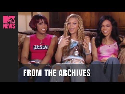 Destiny's Child Discuss Their Inspiration for their Single, 'Survivor' (2001) | MTV News | #TBMTV