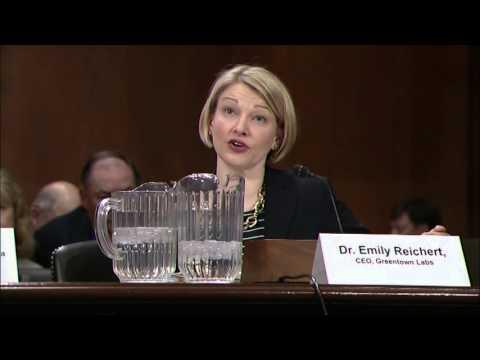 Greentown Labs CEO, Dr. Emily Reichert Testifies before Senate EPW Committee - April 12, 2016