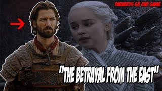 """""""Betrayal From The East"""" Game Of Thrones Season 8 End Game (Theory)"""
