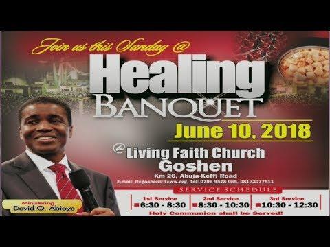 Healing Banquet ( 1st Service ) June 10, 2018