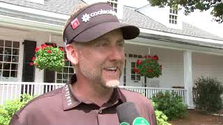 Ian Poulter - Round Two - Masters