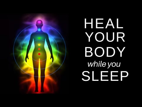 HEAL While you SLEEP ★ Chakra Balancing and Clearing, Healing Guided Meditation