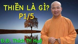 Repeat youtube video Thiền là gì? (cách ngồi thiền hiệu quả) - 1/5 | Đại đức Thích Trí Huệ 2016