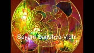 Sayam Sandhya Vidhi - Evening Mantras