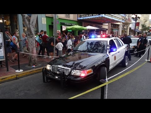 Hydraulic SDCC P-71 Cop Car Cosplay Comic Con Police SDPD #throughglass