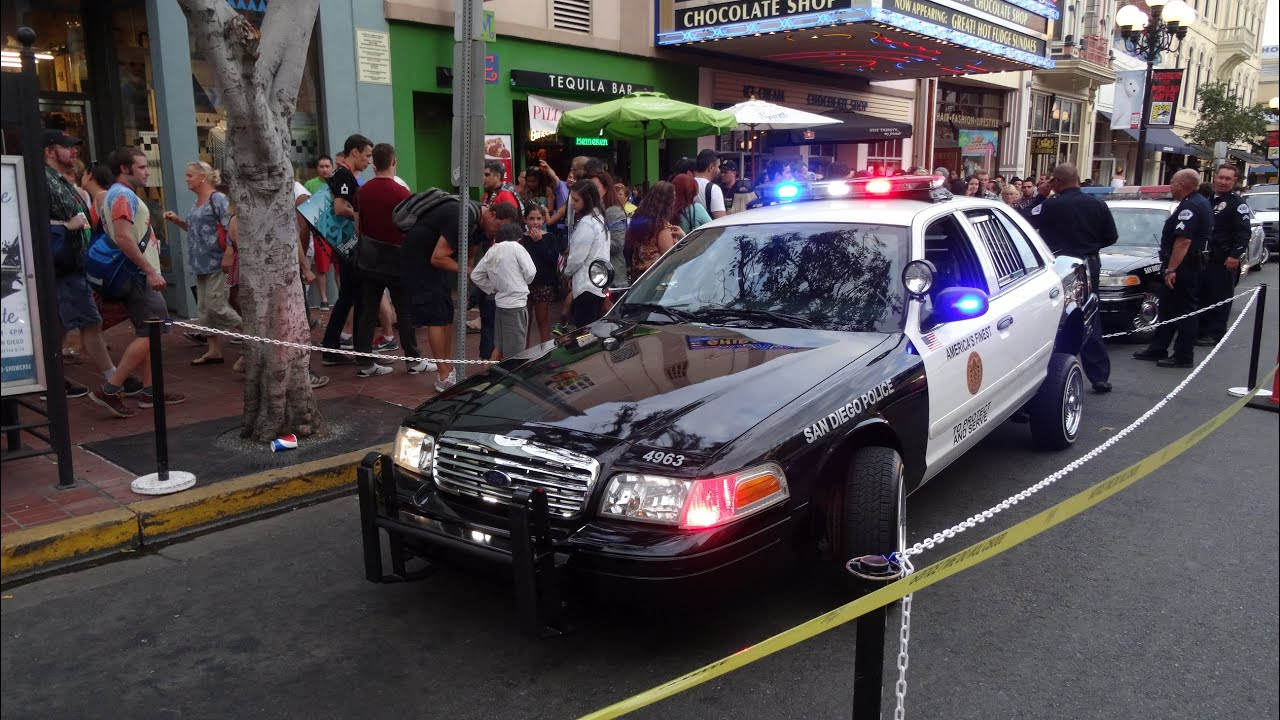 Hydraulic SDCC P Cop Car Cosplay Comic Con Police SDPD - Cool cars hydraulic