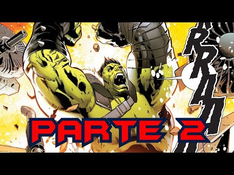 PLANET HULK 2 parte 2 - (regreso al planeta hulk)