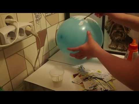Как сделать большое Kinder яйцо
