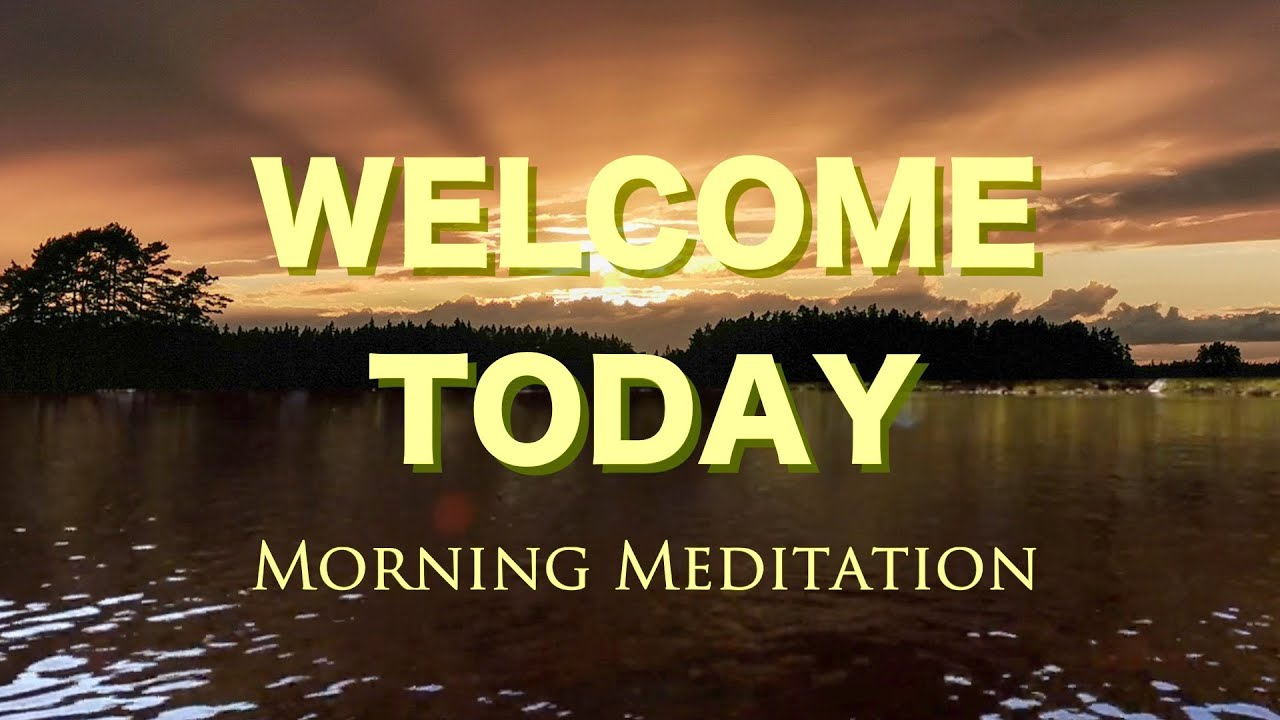 10 min clearing morning Guided meditation for positivity and grounding
