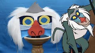 Rafiki Mask | Disney DIY