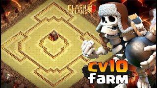 CV10 MELHOR LAYOUT FARM PUSH ATUALIZADO | CLASH OF CLANS | Heitor Vilefort ☑