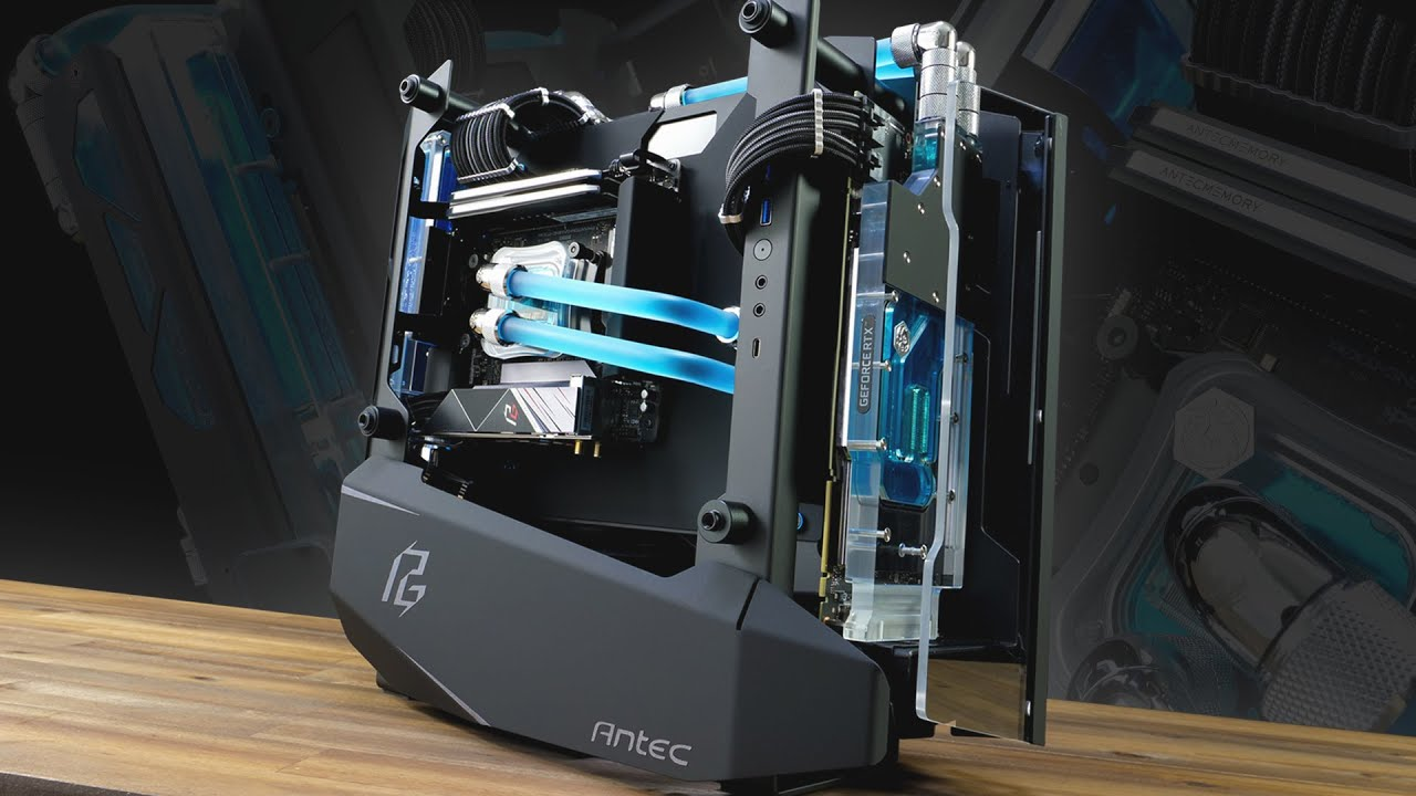 Download A snazzy build in the Antec Striker PG Edition + benchmarks in description!