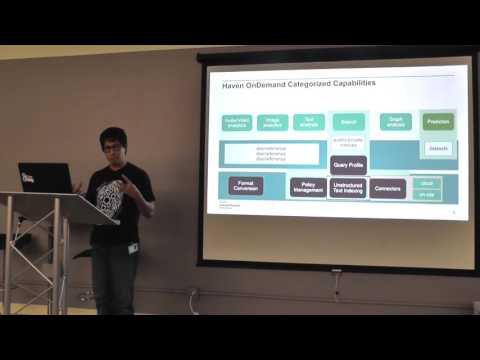 #BDAM: Harnessing the power of unstructured data using Haven OnDemand, by Phong Vu, HPE
