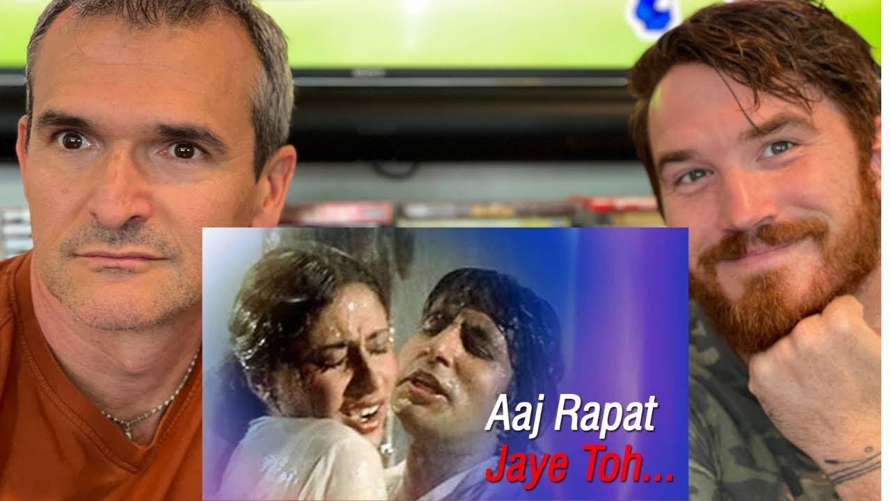 Aaj Rapat Jaye Toh | Amitabh Bachchan | Smita Patil | Namak Halal | REACTION!!