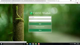 how to make a dbse account