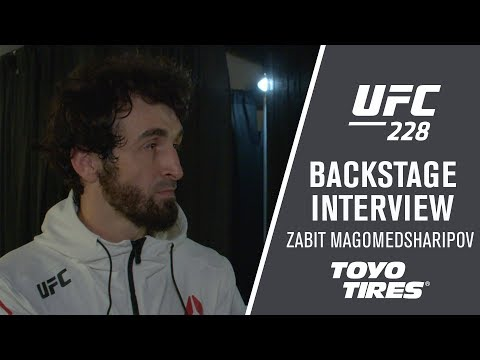 "UFC 228: Zabit Magomedsharipov - ""I Want Jose Aldo or Chad Mendes"""