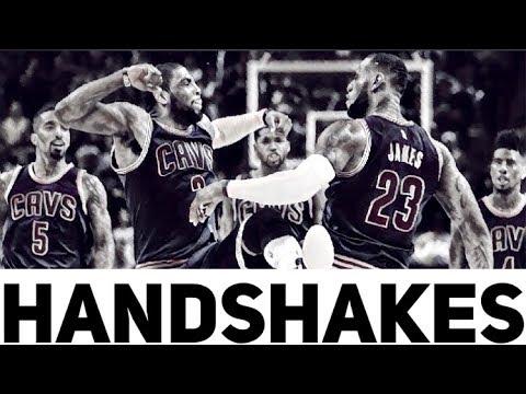 BEST NBA HANDSHAKES COMPILATION !!!