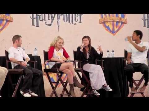 Katie Leung talks Evanna Lynch