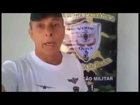 AVISO DE MILITAR PARA OS INTERVENCIONISTAS - Vamos Acaber Com Esses Corruptos
