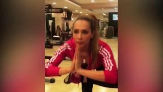 Salman Khan Girlfriend Iulia Vantur Hot Workout Videos
