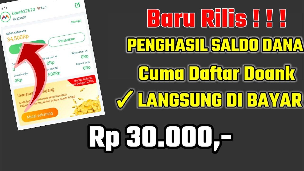 BARU RILIS ! DAFTAR LANGSUNG DI BAYAR Rp 30.000-Aplikasi ...