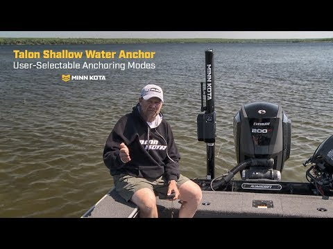 Talon Shallow Water Anchor - Anchoring Modes - YouTube