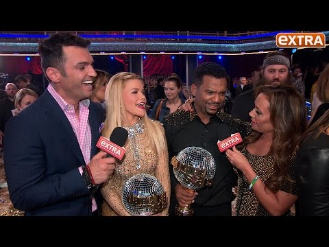 'DWTS' Week 11 Finale: Alfonso Wins the Mirror Ball Trophy, Leah and Tony Hang with the Cast
