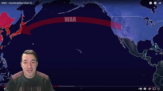 Historian Reacts // Oversimplified - WW2 (Part 2)