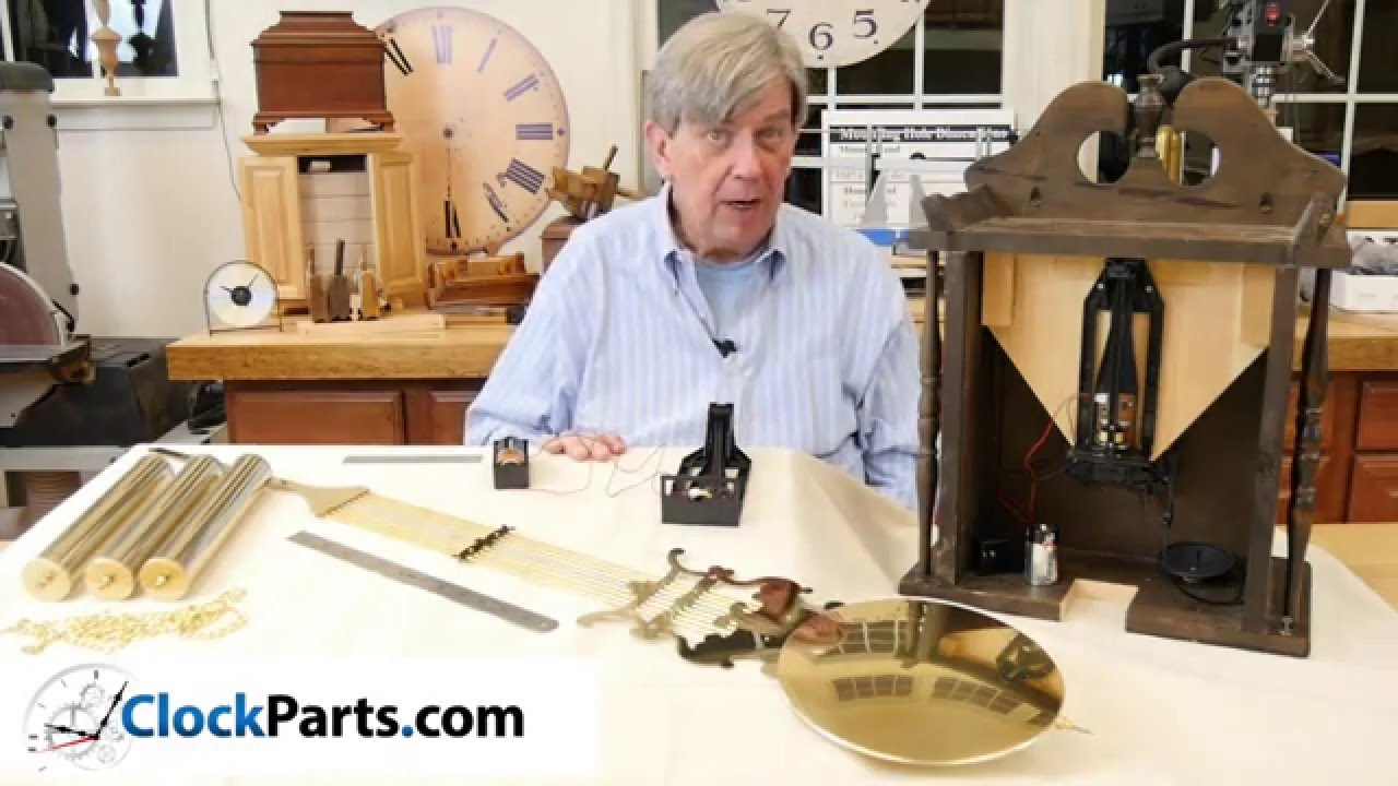 How to Make a Battery Operated Pendulum Grandfather Clock