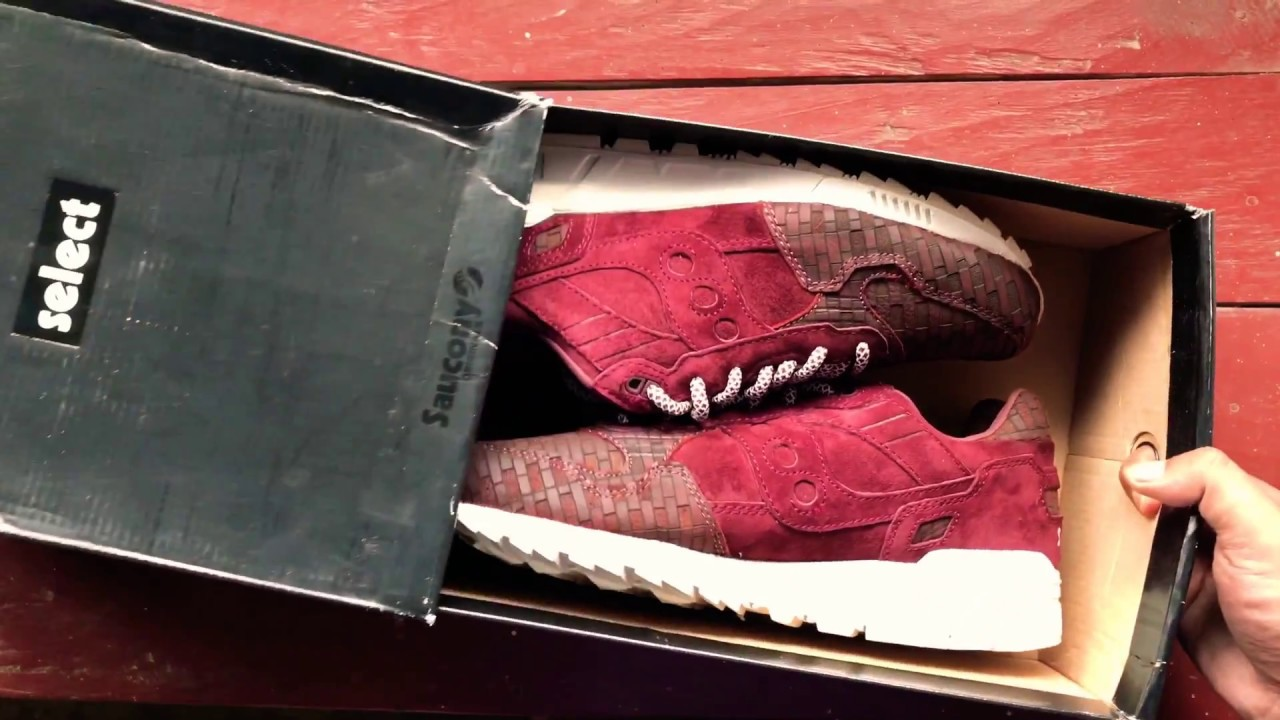 "buy online 11b63 12df9 Saucony Shadow 5000 Bricks ""Brown Red Burgundy"""