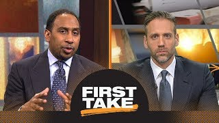 Stephen A. and Max react to Charles Barkley ripping LaVar Ball's parenting | First Take | ESPN thumbnail