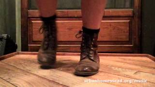 """Mountain Music"" Flatfoot Dancing with Rebecca Stout"