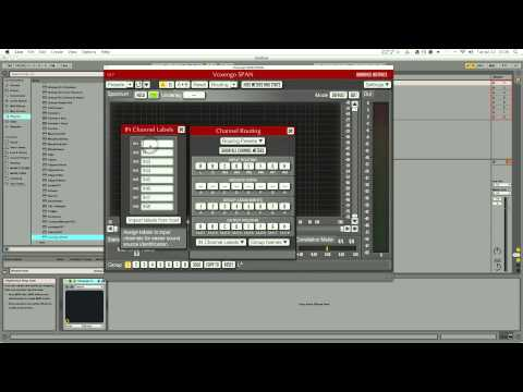 Setting up Voxengo Span in Ableton LiveHD 1080p Video Sharing