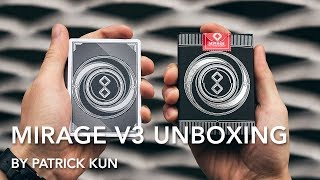 Mirage Playing Cards V3 Unboxing | Patrick Kun