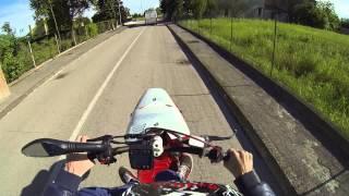 GoproH3Black: MBK Boster Athena 70cc STUNT