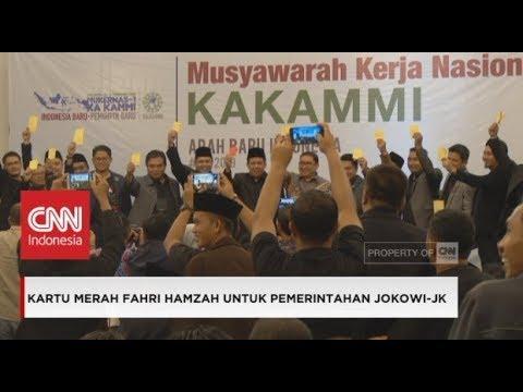Kartu Merah Fahri Hamzah Kritik Pemerintahan Jokowi-JK, Fadlizon Kartu Kuning